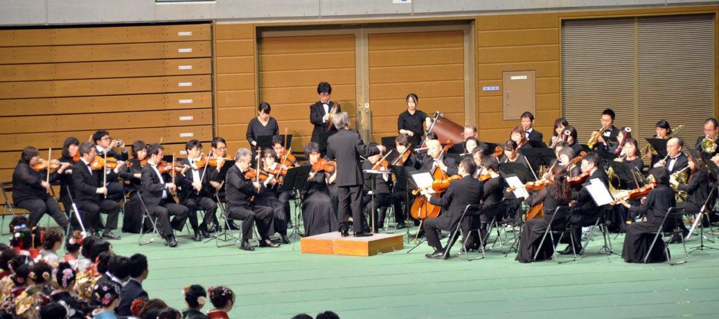 平成31年福島市成人式に出演しました。